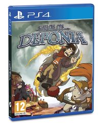 Chaos on Deponia for PS4