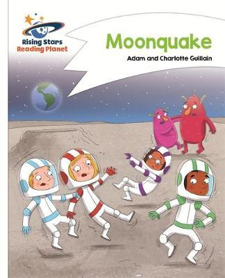 Reading Planet - Moonquake - White: Comet Street Kids by Adam Guillain image