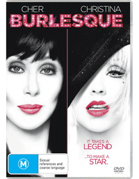 Burlesque on DVD
