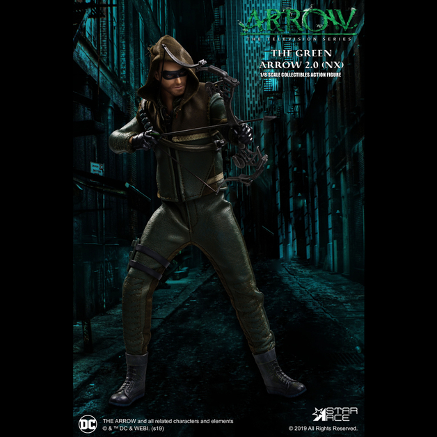 Arrow: Green Arrow (S7) - 1:8 Scale Deluxe Figure