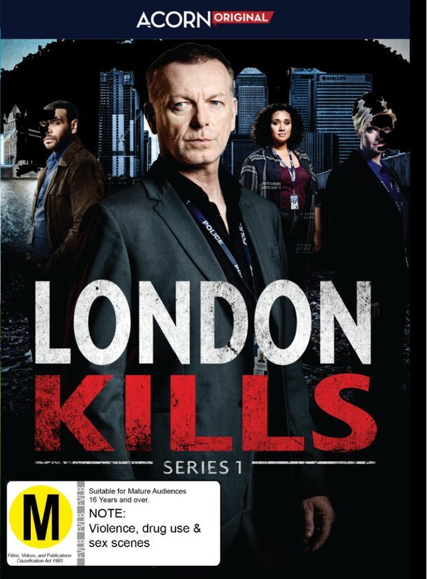 London Kills - Series 1 on DVD image