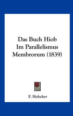 Das Buch Hiob Im Parallelismus Membrorum (1839) image