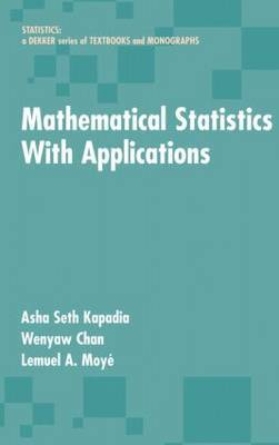 Mathematical Statistics With Applications by Asha Seth Kapadia image
