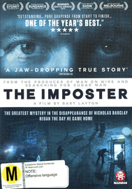 The Imposter on DVD