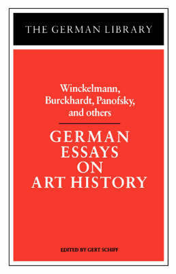 German Essays on Art History