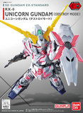 SD Gundam EX: Unicorn Gundam (Destroy Mode) - Model Kit