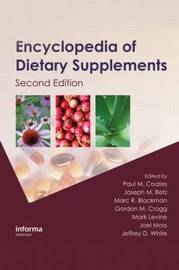 Encyclopedia of Dietary Supplements, Second Edition (Print) image