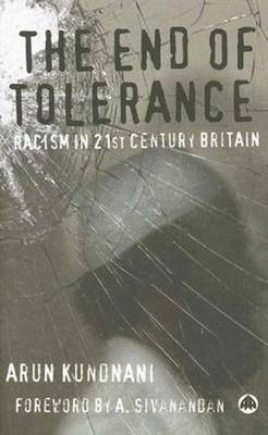 The End of Tolerance by Arun Kundnani image