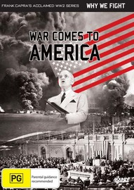 War Comes to America on DVD image