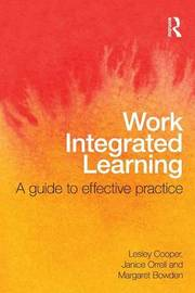 Work Integrated Learning by Lesley Cooper image