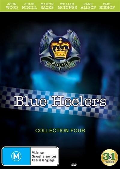 Blue Heelers - Collection 4 on DVD