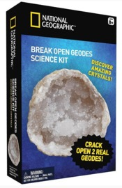 National Geographic: Break Open Real Geodes - 2-Pack image