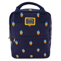 Loungefly: Mickey Mouse - Donald Head Print Mini Backpack