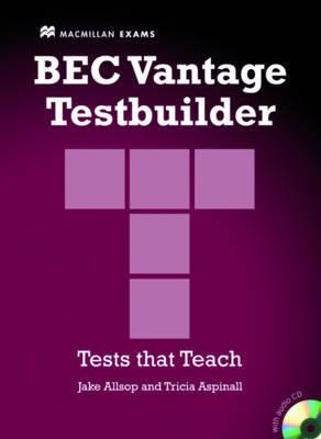 Bec Vantage Testbuilder & CD Pk by Allsop J et el image