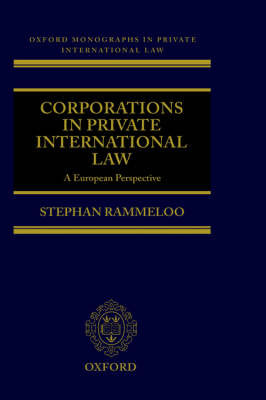 Corporations in Private International Law by Stephan Rammeloo image