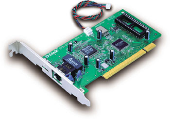 D-Link 10/100Mbps PCI Adapter  With WOL Function