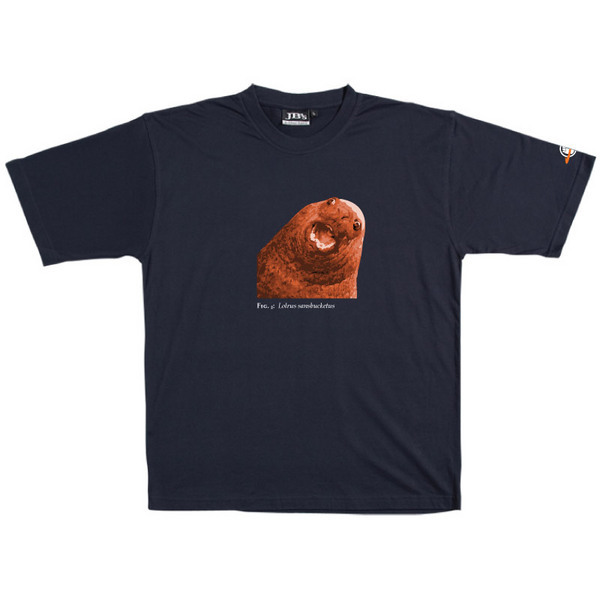 Lolrus Sansbucketus - Tshirt (Navy) for
