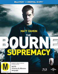 The Bourne Supremacy on Blu-ray, DC