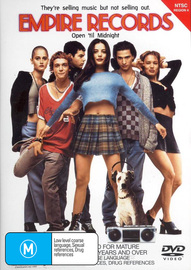 Empire Records on DVD image