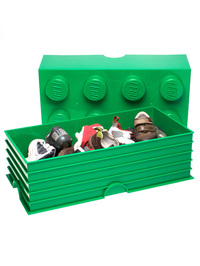 LEGO Storage Brick 8 (Dark Green)