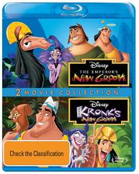 The Emperor's New Groove / Kronk's New Groove 2 Movie Collection on Blu-ray