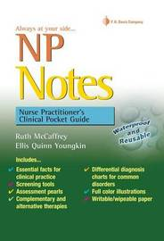 NP Notes: Nurse Practitioner's Clinical Pocket Guide by Ruth McCaffrey image
