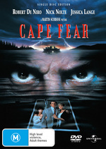 Cape Fear (1991) - Single Disc Edition on DVD