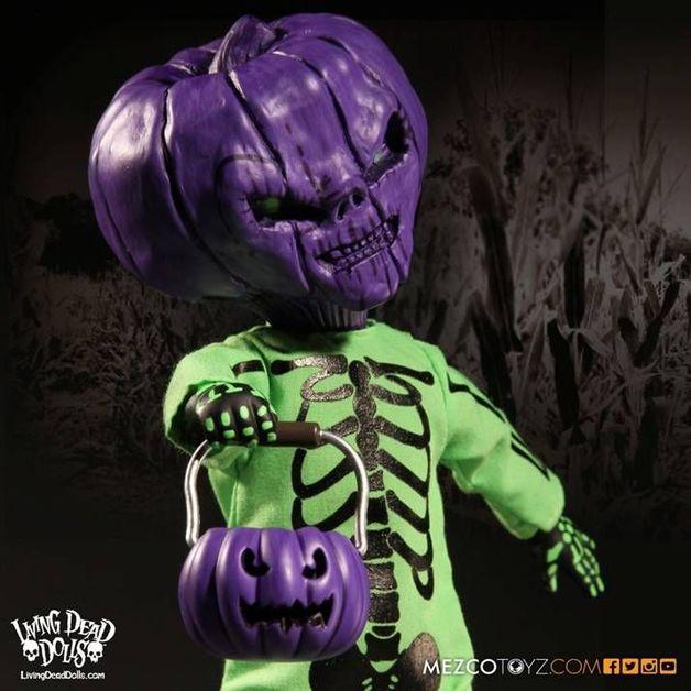 Living Dead Dolls - Jack O'Lantern (Purple/Green)