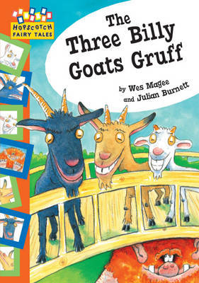 The Three Billy Goats Gruff by Wes Magee image