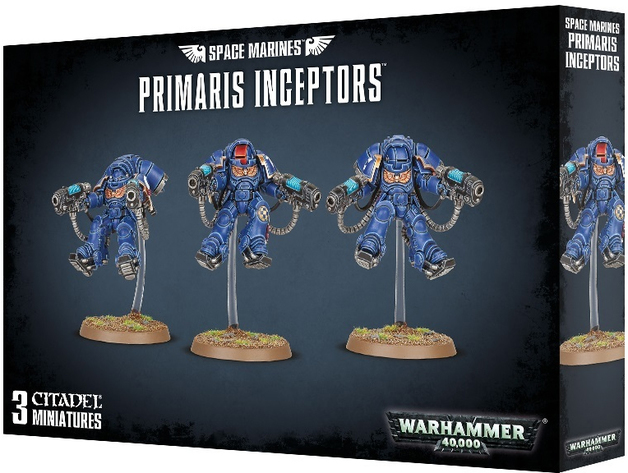 Warhammer 40,000 : Space Marines Primaris Inceptors