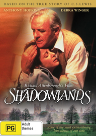 Shadowlands on DVD image