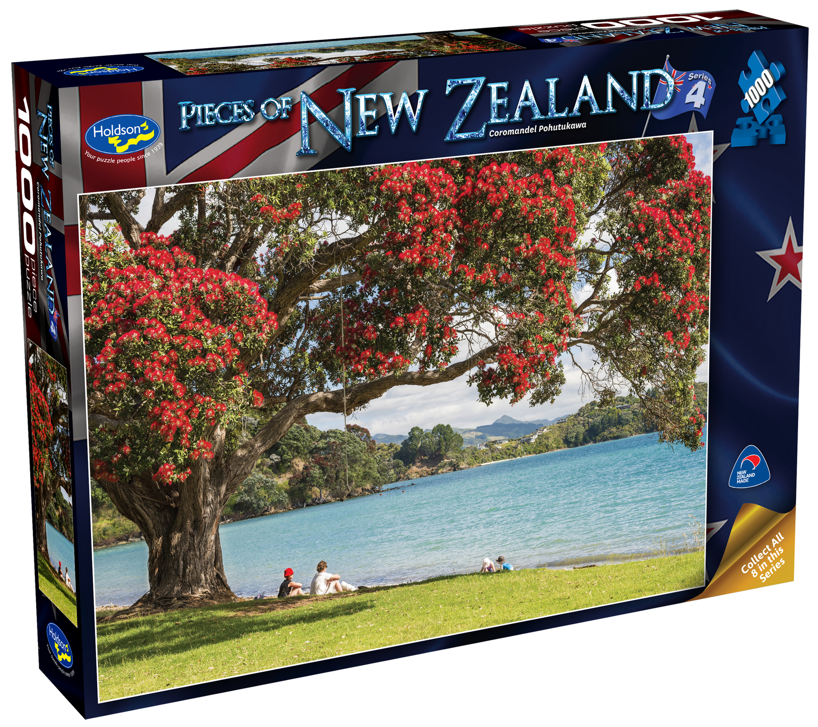 Holdson: Pieces of New Zealand - Series 4 - Coromandel Pohutukawa - 1000 Piece Puzzle image