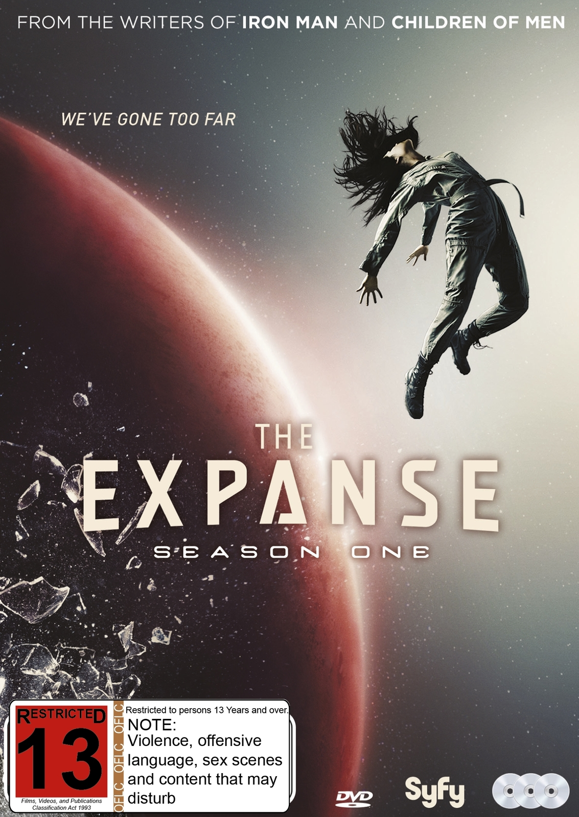 The Expanse - Season One on DVD image