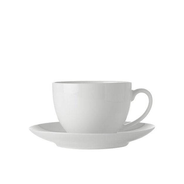 Maxwell & Williams White Basics Cup & Saucer (280ML)