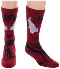 Marvel: Carnage Suit-Up - Men's Socks