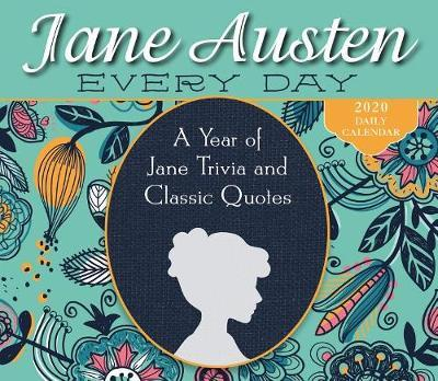 A Year of Jane Trivia and Classic Quotes 2020 Boxed Calendar by Stacia Tolman image