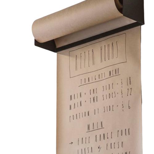 Metal Paper Roll Holder