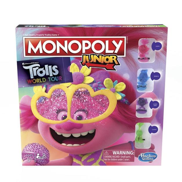 Monopoly Junior - Trolls World Tour Edition
