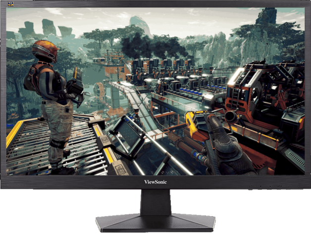 "24"" ViewSonic 1080p 75Hz 5ms Gaming Monitor"