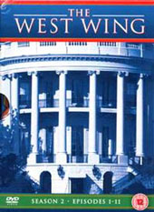 The West Wing Season 2 Part 1 on DVD