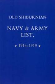 Old Shirburnian Navy and Army List (1914-18) image