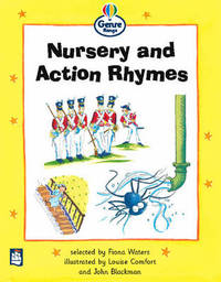 Nursery and Action Rhymes Genre Beginner Stage Poetry Book 1 by Fiona Waters image