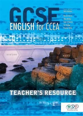 GCSE English for CCEA: Teacher's Resource by Ellen McVea image