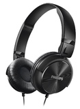 Philips DJ Style On-Ear Headphones (Black)
