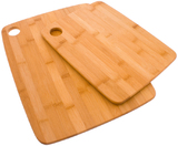 Bamboo 2-Ply Cutting Board (Set of 2)