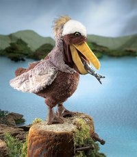 Folkmanis Hand Puppet - Pelican image