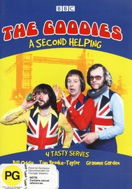 The Goodies - A Tasty Second Helping (Vol 2) on DVD image