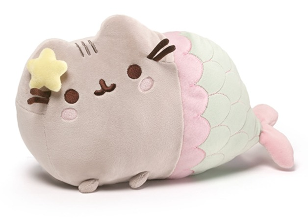 "Pusheen The Cat: Mermaid - 13"" Plush"