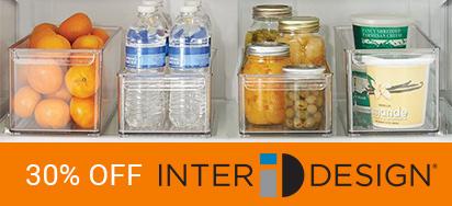 30% OFF InterDesign Storage