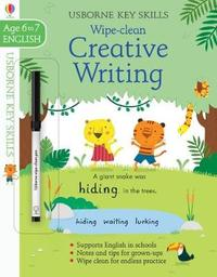 Wipe-Clean Creative Writing 6-7 by Caroline Young image